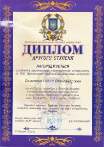 Всеукраинский конкурс студенческих научных работ